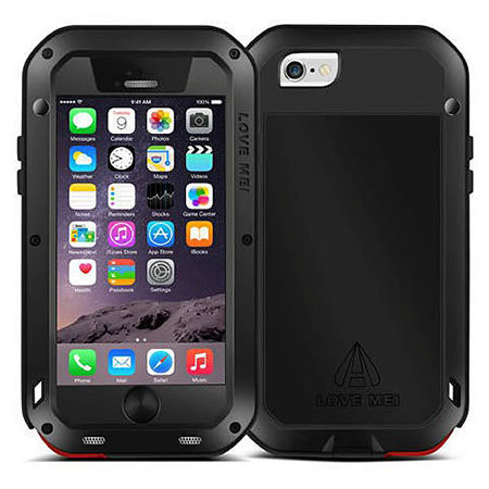 love mei powerful iphone 6s / 6 protective case - black reviews