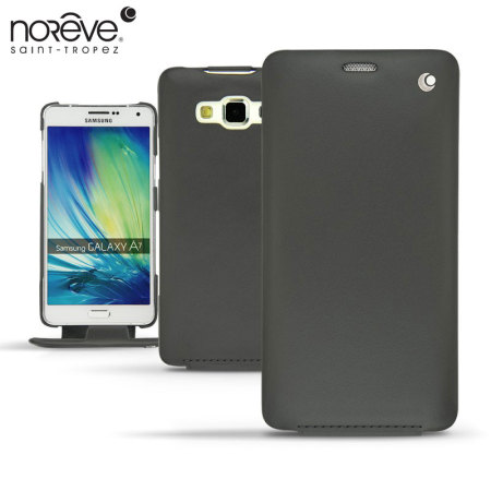 Noreve Tradition Samsung Galaxy A7 2015 Leather Case - Black