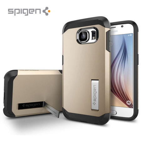 Spigen Tough Armor Samsung Galaxy S6 Case - Champagne Gold