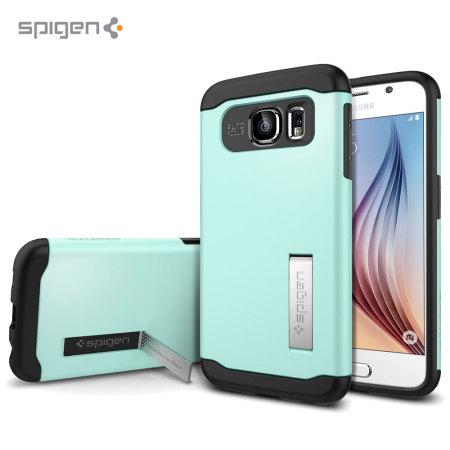 Spigen Slim Armor Samsung Galaxy S6 Case - Mint