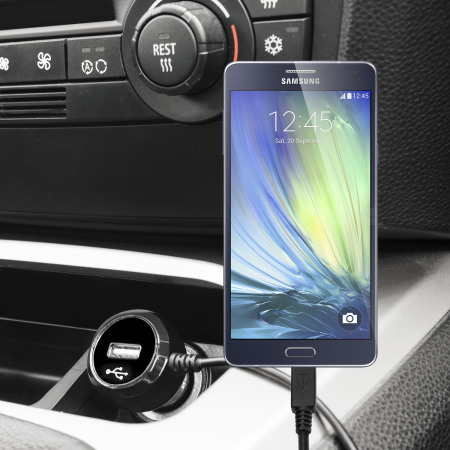 Olixar High Power Samsung Galaxy A3 2015 Car Charger