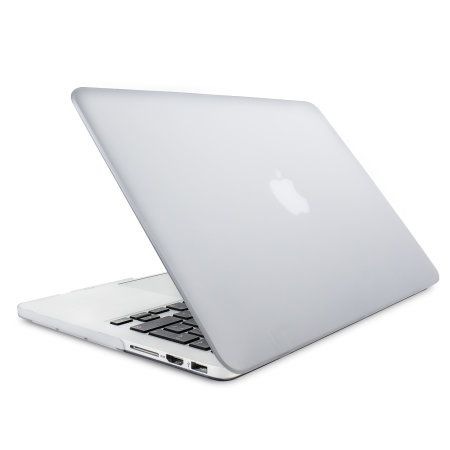 Olixar ToughGuard MacBook Pro Retina 13 inch Hard Case - Clear