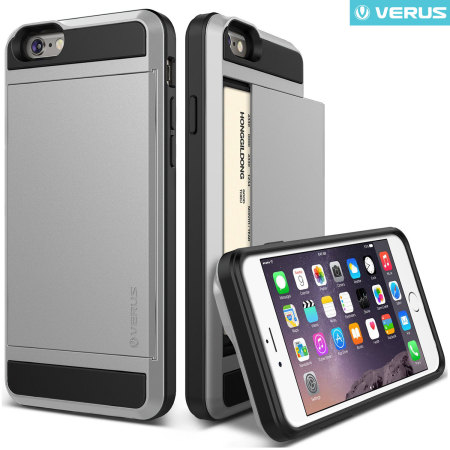 new style f864e 20c2c Verus Damda Slide iPhone 6S / iPhone 6 Case - Satin Silver