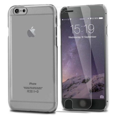 total protection iphone 6s / 6 case & screen protector pack - clear reviews