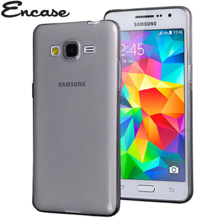 Encase FlexiShield Samsung Galaxy Grand Prime Case - Smoke Black