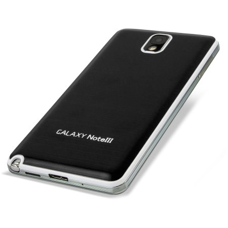 Metal Replacement Back for Samsung Galaxy Note 3 - Black / White