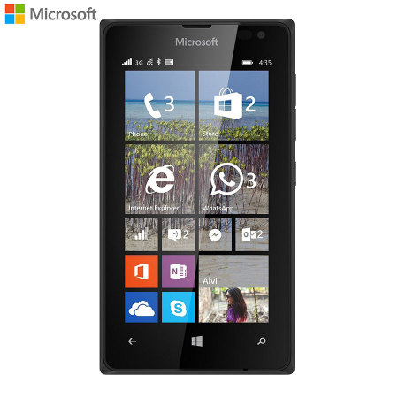 SIM Free Microsoft Lumia 435 Unlocked - Black