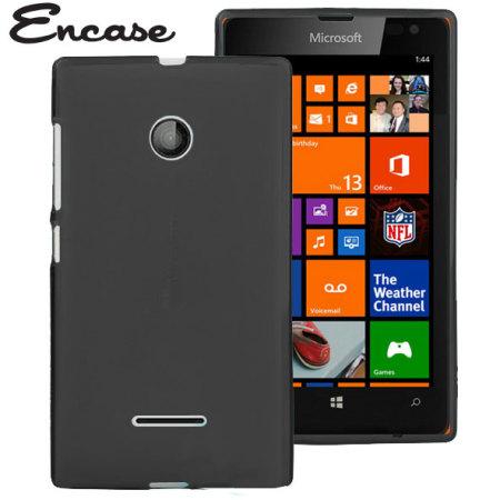 best website d1903 20523 Encase FlexiShield Microsoft Lumia 435 Case - Black