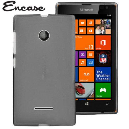the latest dfc4d 4fe9f Encase FlexiShield Microsoft Lumia 435 Case - Smoke Black