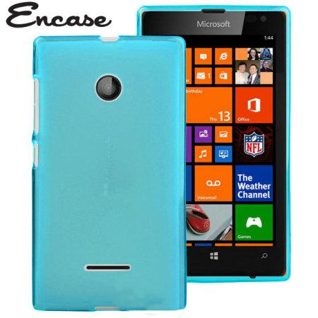 sports shoes 11425 df09d Encase FlexiShield Microsoft Lumia 435 Case - Blue