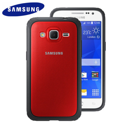 factory authentic e6eb8 8f3a7 Official Samsung Galaxy Core Prime Protective Cover Hard Case - Red