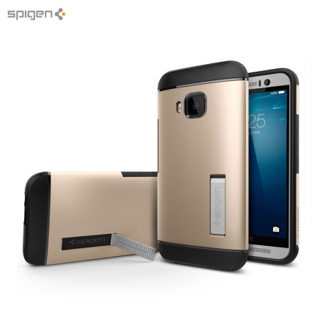 Spigen Slim Armor HTC One M9 Case - Champagne Gold