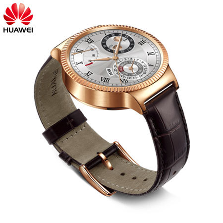 Huawei Watch for Android and iOS Smartphones - Gold
