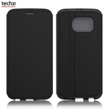 quality design a2637 ffb3e Tech21 Evo Frame Galaxy S6 Edge Wallet Case - Black