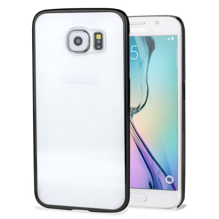 Glimmer Polycarbonate Samsung Galaxy S6 Shell Case - Black and Clear