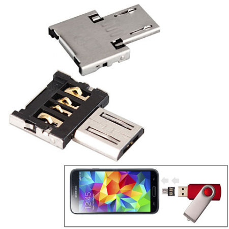 PRO OTG Power Cable Works for Huawei P Smart Plus 2019 with Power Connect to Any Compatible USB Accessory with MicroUSB