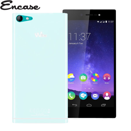 Encase FlexiShield Wiko Highway Star 4G Case - Frost White