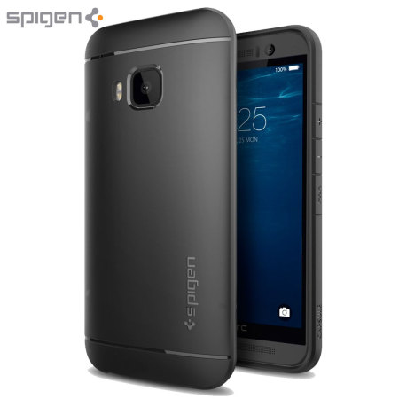 Spigen HTC One M9 Capsule Case - Black