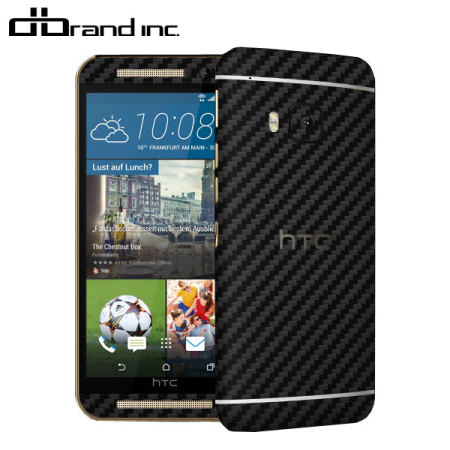 dbrand HTC One M9 Carbon Fibre Skin - Black