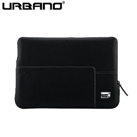 Housse MacBook 12 pouces Urbano Premium - Noire