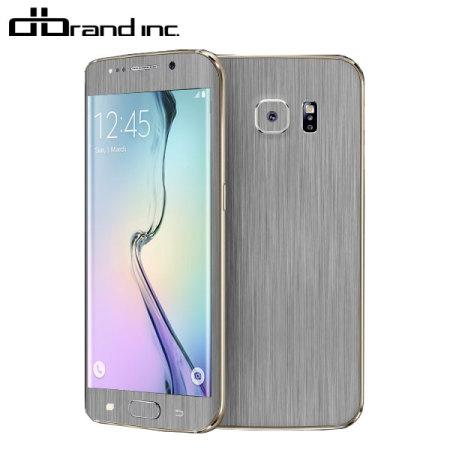 the latest df2f1 8aff6 dbrand Samsung Galaxy S6 Edge Titanium Skin - Silver