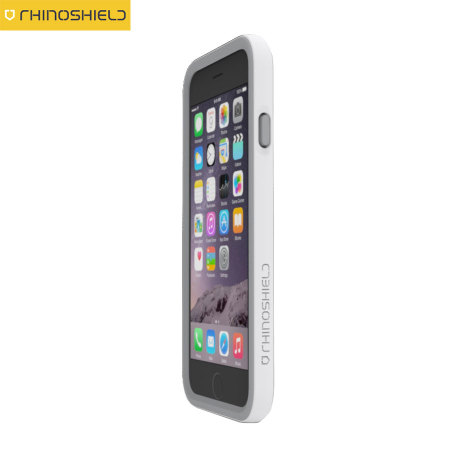 new arrival cae19 3c8cd Rhino Shield Crash Guard iPhone 6S Plus / 6 Plus Bumper Case - White