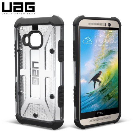 best website fc924 4adee UAG Maverick HTC One M9 Protective Case - Clear