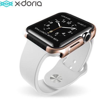 coque apple watch 3 2 1 42mm x doria defense edge or. Black Bedroom Furniture Sets. Home Design Ideas