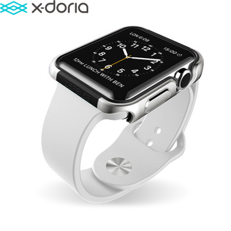 X-Doria Defense Edge Apple Watch Series 2 / 1 Case (38mm) - Silver