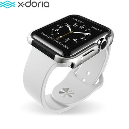 Coque Apple Watch 2 / 1 (38mm) X-Doria Defense Edge - Argent