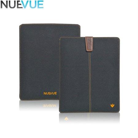 NueVue Cotton Twill iPad Mini 1 / 2 / 3 Cleaning Case - Black