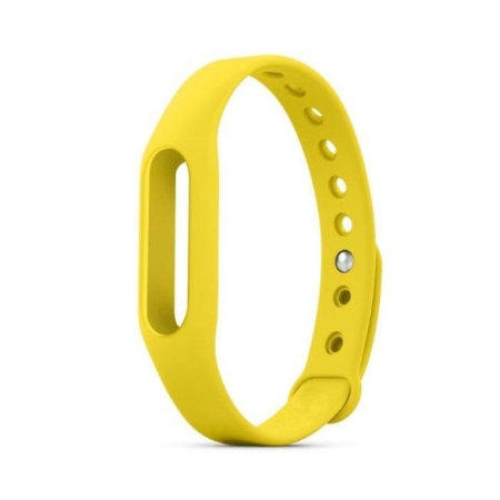 Replacement Band for Mi Band Fitness Monitor - Yellow
