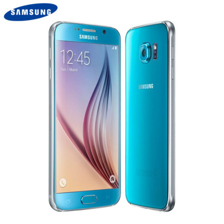 SIM Free Samsung Galaxy S6 Unlocked - 32GB - Blue
