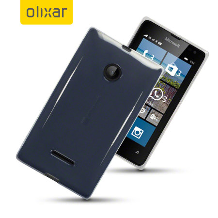 FlexiShield Microsoft Lumia 532 Case - Clear