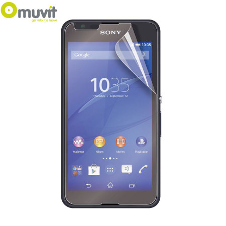 Muvit 2 Pack Matte & Glossy Sony Xperia E4G Screen Protectors