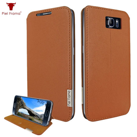 Piel Frama FramaSlim Samsung Galaxy S6 Leather Case - Tan
