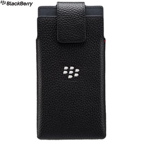 Official Blackberry Leap Leather Swivel Holster