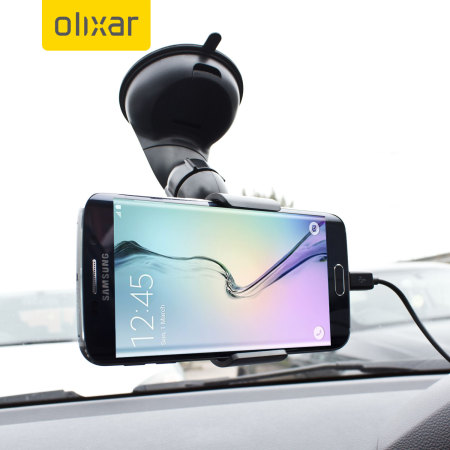 Olixar DriveTime Samsung Galaxy S6 Edge In-Car Pack