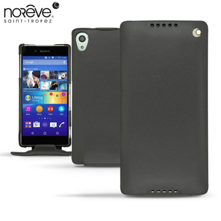 Noreve Tradition Sony Xperia Z3+ Leather Case - Black