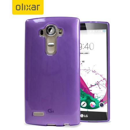 FlexiShield LG G4 Gel Case - Purple