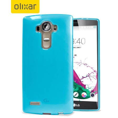 FlexiShield LG G4 Gel Case - Blue