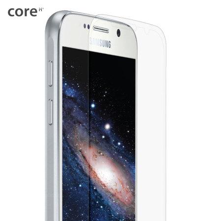 core samsung galaxy s6 full coverage glass screen protector