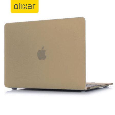 Olixar ToughGuard MacBook 12 inch Hard Case - Champagne Gold