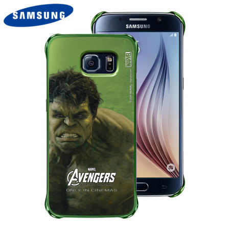 premium selection 25db3 18a27 Official Samsung Marvel Avengers Galaxy S6 Case - Hulk
