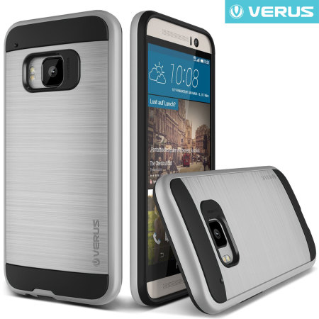 Verus Verge Series HTC One M9 Case - Satin Silver