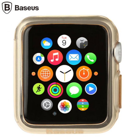 Baseus Apple Watch Series 2 / 1 Shell Case - 38mm - Gold / Clear
