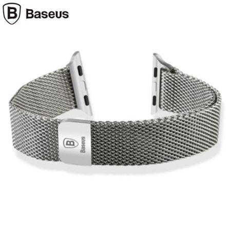 Baseus Apple Watch Milanese Loop Strap - 42mm - Silver
