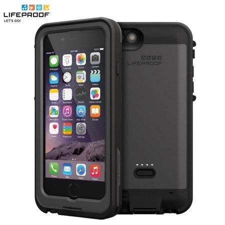 size 40 72612 8a997 LifeProof Fre Power iPhone 6 Waterproof Battery Case - Black