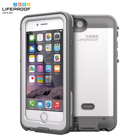 online store c1bc9 3ed6f LifeProof Fre Power iPhone 6 Waterproof Battery Case - White