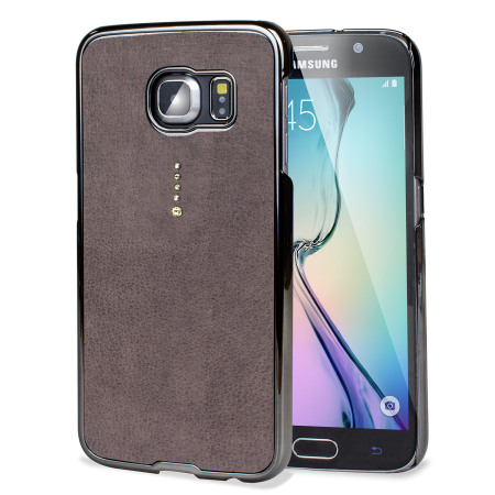 Samsung Galaxy S6 Bling Case with Swarovski Elements - Grey